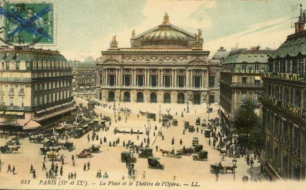 LL 641 (vue 3c) - La Place et le Théâtre de l'Opéra