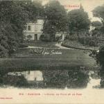 652 - Pamiers - L'Hôtel de Ville et le Parc