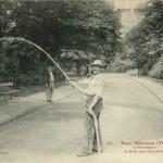 67 - Parc Monceau - L'Arroseur, l'ami des cyclistes