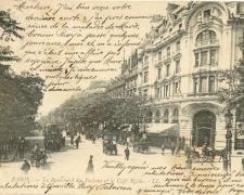 68 - PARIS - Le Boulevard des Italiens et le Café Riche
