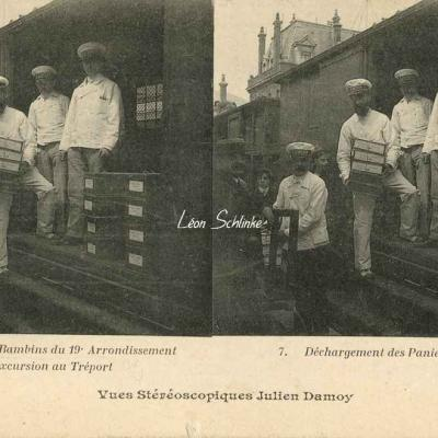 7 - Déchargement des Paniers Damoy