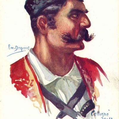 7 - Infanterie Monténégrine