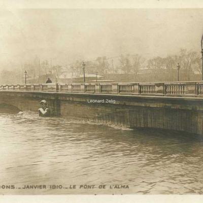 7 - Le Pont de l'Alma