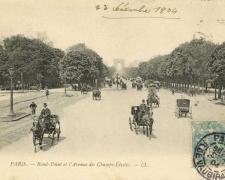 7 - PARIS - Rond-Point et l'Avenue des Champs-Elysées