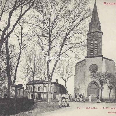 70 - Balma - L'Eglise et la Place