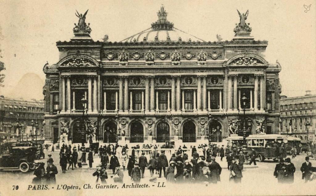 LL 70 (vue 9) - L'Opéra, Ch. Garnier, Architecte
