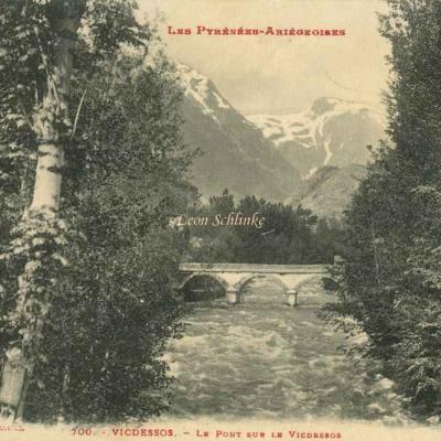 700 - Vicdessos - Le Pont sur le Vicdessos