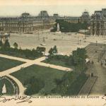 72 - Place du Carrousel et Palais du Louvre