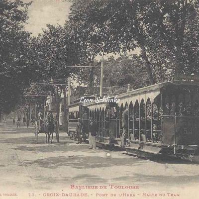 73 - Croix-Daurade - Pont de l'Hers - Halte du Tram