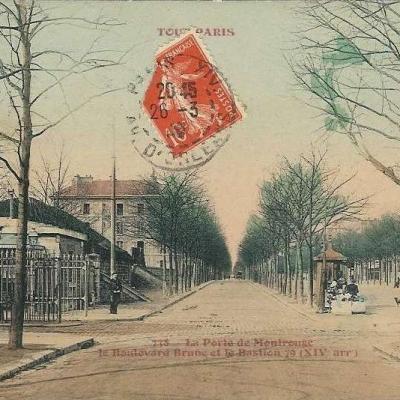 738 - La Porte de Montrouge - Boulevard Brune et le Bastion