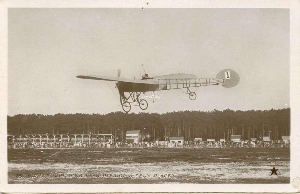 75 - Morane sur le nouveau Blériot à deux places