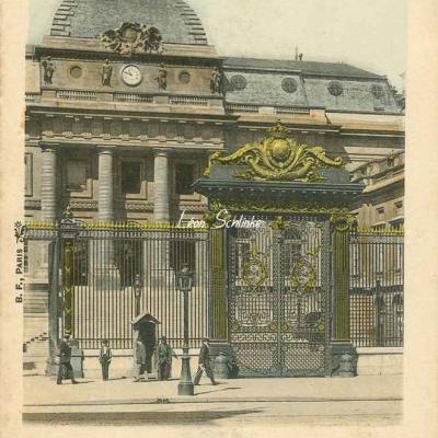 75 - Palais de Justice (entrée principale)