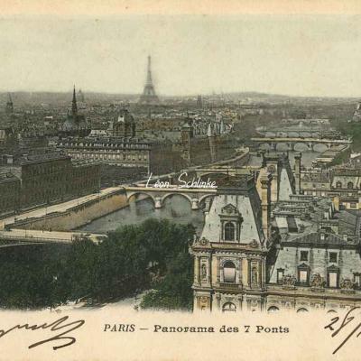 76 - Panorama des 7 Ponts