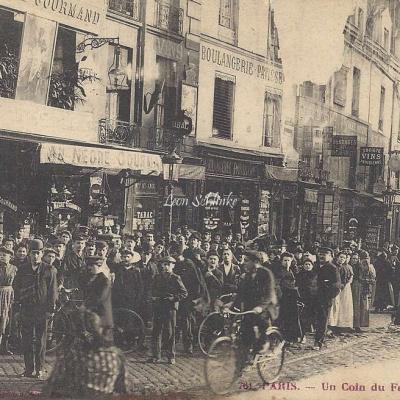 Photo-phono Gondry 761 - Un coin du Faubourg St-Antoine