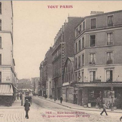 764 - Rue Louis-BVlanc au Quai Jemmapes