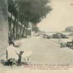 77 - Bords de la Seine - Un peintre à l'ouvrage