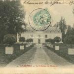 77-Chaumes - Château de Beauvoir (Ciron ed.)