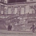 77-Fontainebleau - L'escalier du Fer à Cheval (L.D. 4)