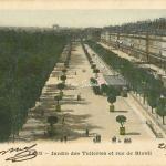 77 - Jardin des Tuileries et rue de Rivoli