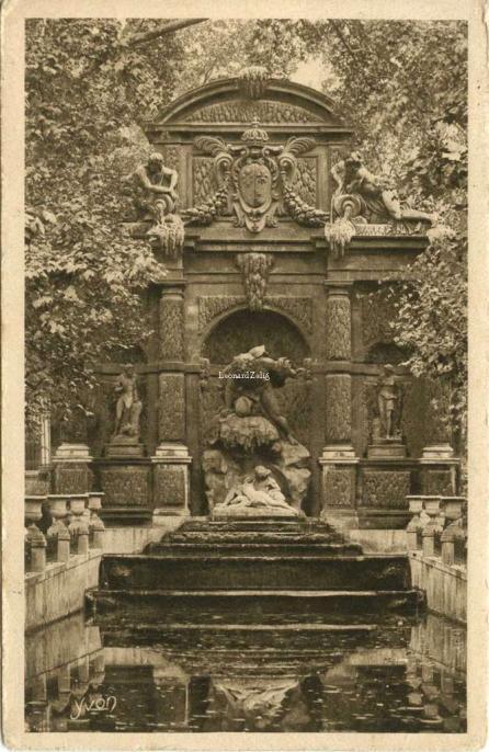 78 - La Fontaine Médicis (Jardin du Luxembourg)