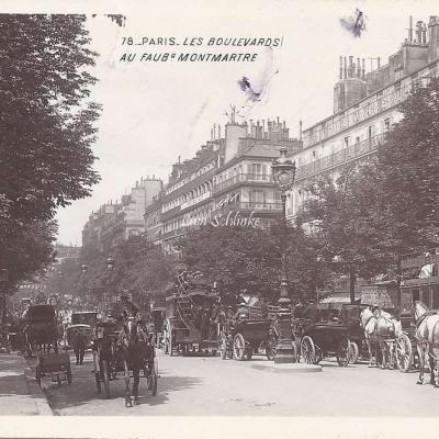 78 - Les Boulevards au Faubourg Montmartre