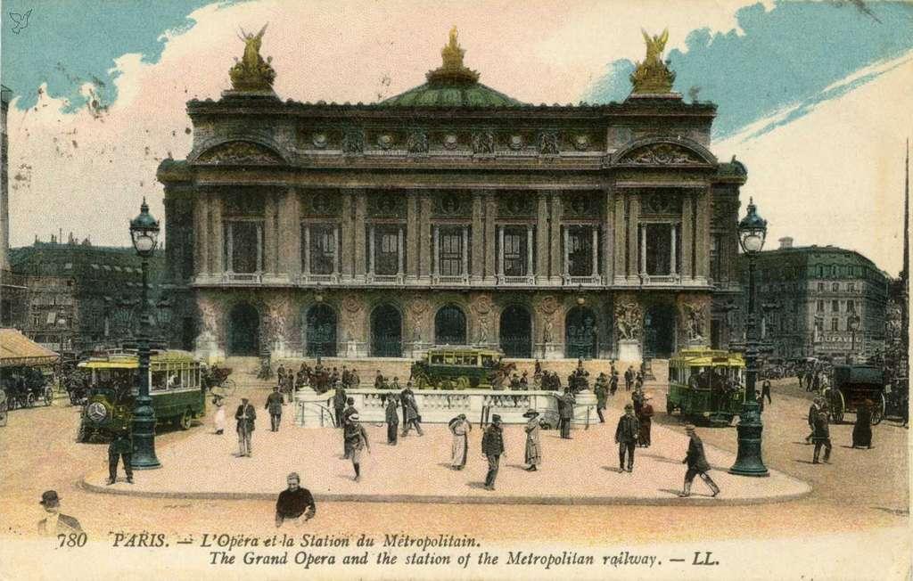 LL 780 (vue 6c ) - L'Opéra et la Station du Métropolitain