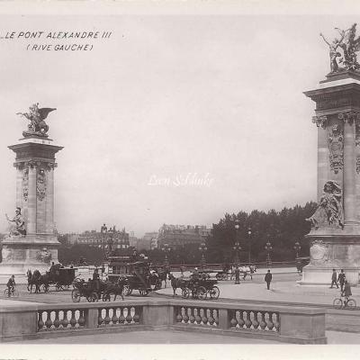 79 - Le Pont Alexandre III (Rive gauche)