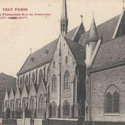 792 - Eglise Flamande, rue de Charonne