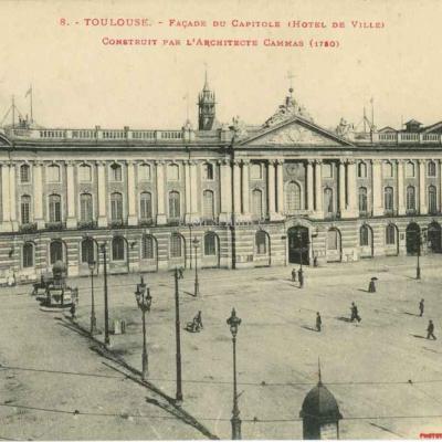 8 - Façade du Capitole (Hôtel de Ville) de l'Architecte Cammas