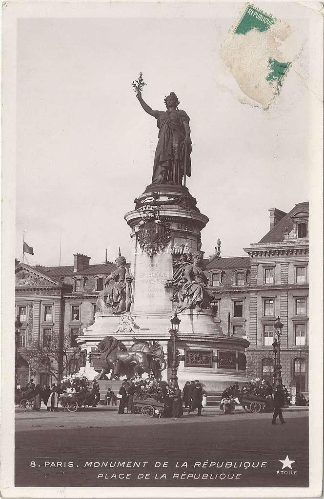 8 - Monument de la République, Place de la République