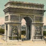 8 - PARIS - L'Arc de Triomphe.