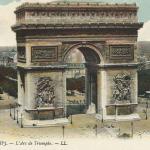 8 - PARIS - L'Arc de Triomphe