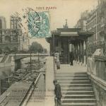 83 - Vue du Petit Bras de la Seine - Notre-Dame