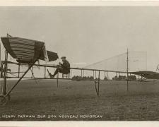 84 - Henry Farman sur son nouveau Monoplan