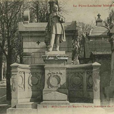 84 - Monument du Baron Taylor, membre de l'Institut