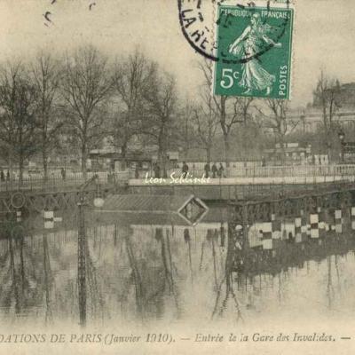 85 - Entrée de la Gare des Invalides