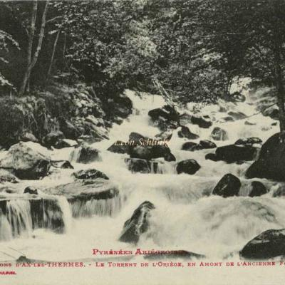 854 - Environs d'Ax-les-Thermes - Torrent de l'Oriège