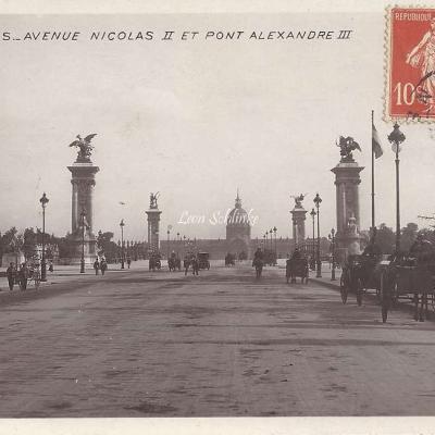 86 - Avenue Nicolas II et Pont Alexandre III