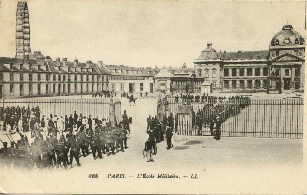 865 - PARIS - L'Ecole Militaire