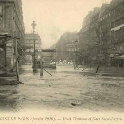 87 - Hôtel Terminus et Gare St-Lazare