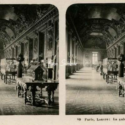 89 - Paris - Louvre - La Galerie d'Apollon