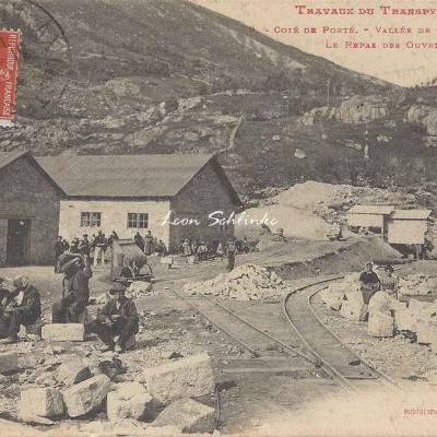 9 - Côté de Porté - Vallée de Cural, le repas des ouvriers