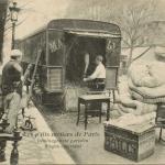 9 - Déménagement parisien - Wagon capitonné