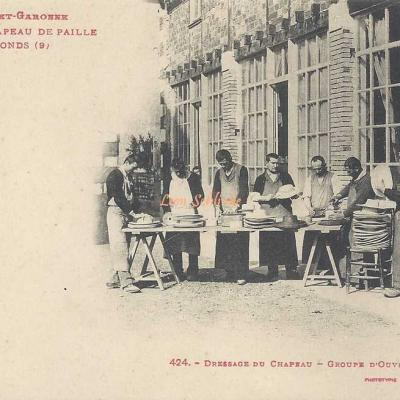 9 - Dressage du Chapeau - Groupe d'Ouvriers Dresseurs