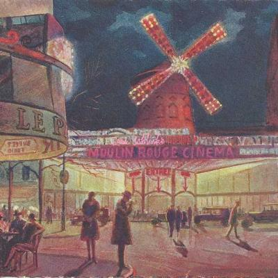 9 - Le Moulin Rouge