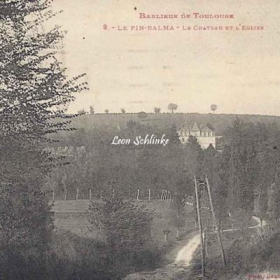 9 - Le Pin-Balma - Le Château et l'Eglise