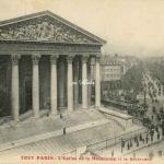 9 M - L'Eglise de la Madeleine et le Boulevard