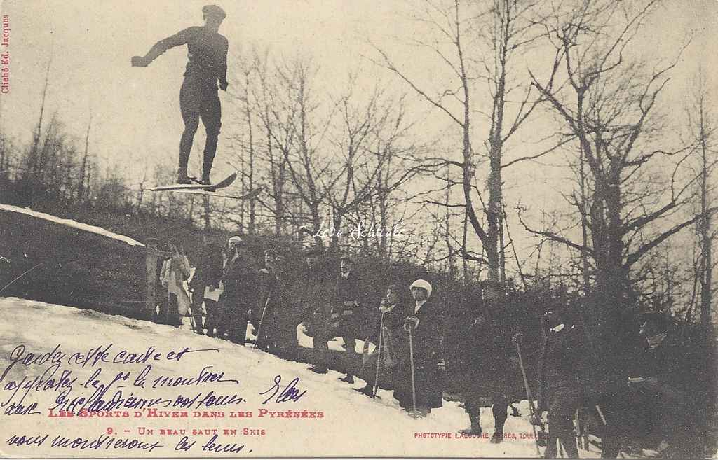 9 - Un beau saut en skis
