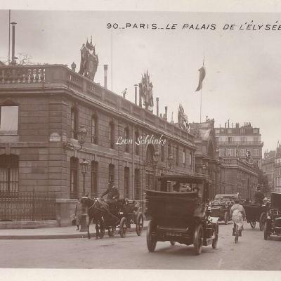 90 - Le Palais de l'Elysée