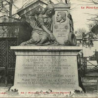 92 - Monument de la Famille Béclard